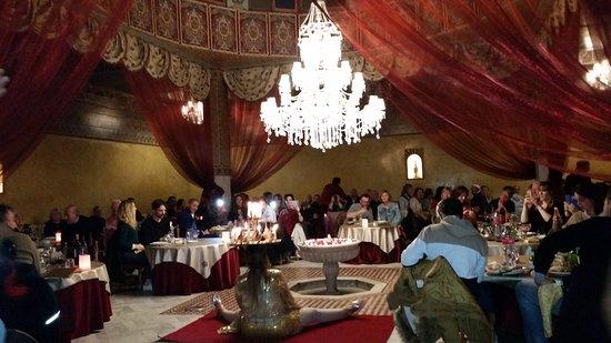 DAR ESSALAM : der zweite große Speisesaal