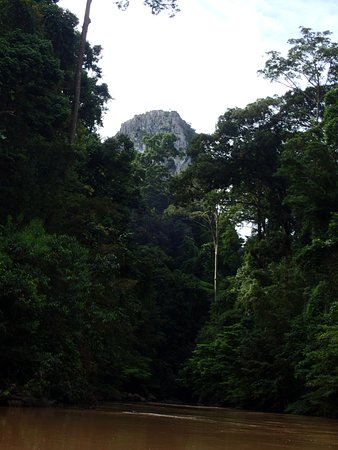 Sepulut, Malaysia: first view from the river