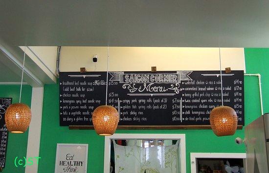 Saigon Corner Cafe Menu