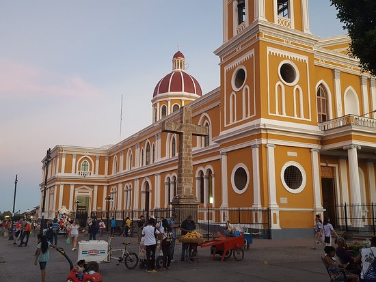 Granada, Nicaragua: view to the west of central park
