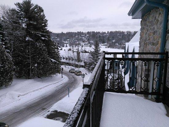 Hotel Le Chantecler: ma chambre possédait un gand balcon