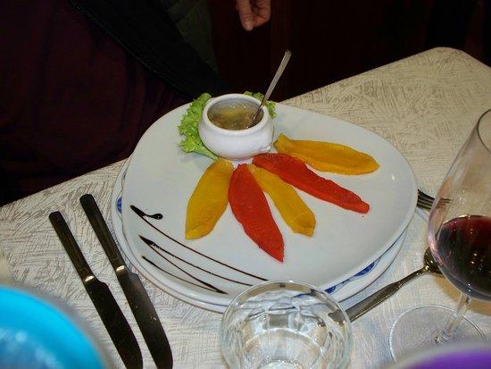 peperoni con bagna cauda - Foto di Osteria del Borgo, Carru ...