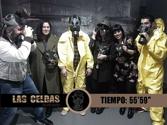 ‪Las Celdas escape room‬