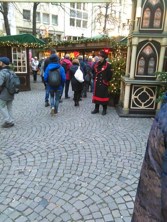 Hotel Mondial am Dom Cologne MGallery by Sofitel: Christmas Market only 2 mins away.