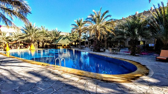 "Kasbah Hotel Xaluc Arfouf, a ""desert oasis""  thematically speaking."