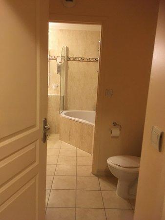 Adonis Excellior Grand Geneve: В туалет можно попасть из прихожей или из ванной