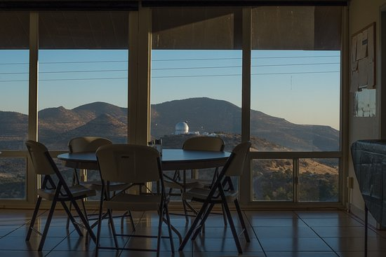 McDonald Observatory: The breakfast view in the Astronomer's Lodge