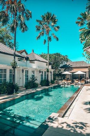 ذا كولوني هوتل: The pool is a quiet oasis.