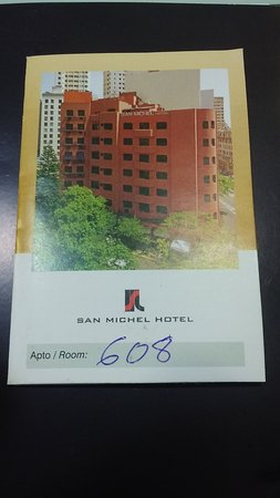 San Michel Hotel: Cartão