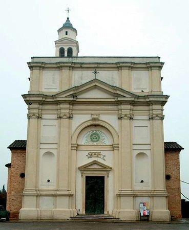 Santa Maria di Sala, Италия: Facciata della chiesa