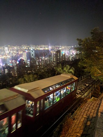 how to go down from victoria peak