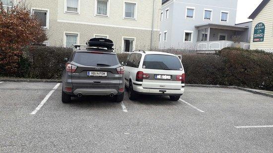 Attnang-Puchheim, النمسا: gut eingeparkt