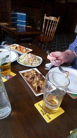 Eamont Bridge, UK: Royal Fried Rice - Prawn Curry - Honey Roasted Duck