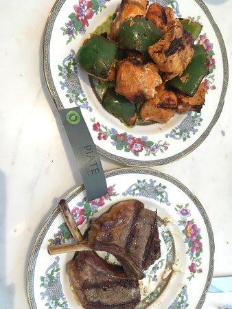 Lamb cutlets and Souvlaki!!