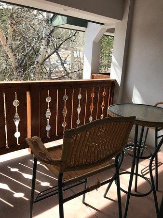 Silver Moon Inn: balcony