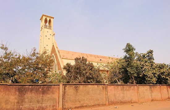 Ouagadougou, Burkina Faso: 教会の外観