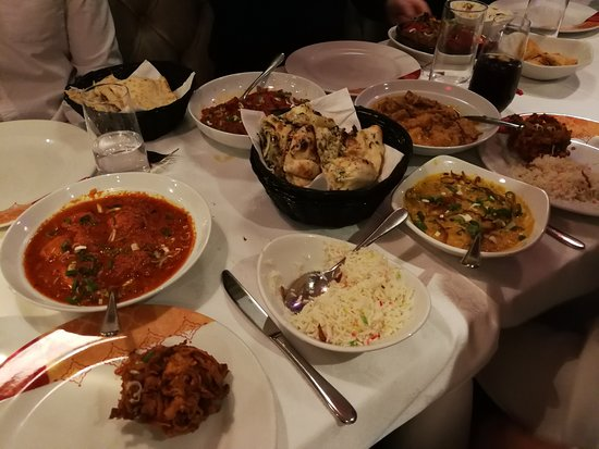 Datchet, UK: A proper good meal - all the delicacies