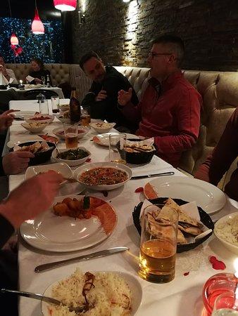 Datchet, UK: Rest of table