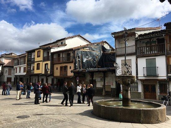 Villanueva de la Vera, Spain: Square