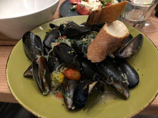 Cooroy, Australia: mussels