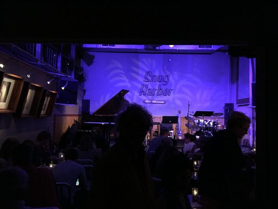 Snug Harbor Jazz Bistro Stage