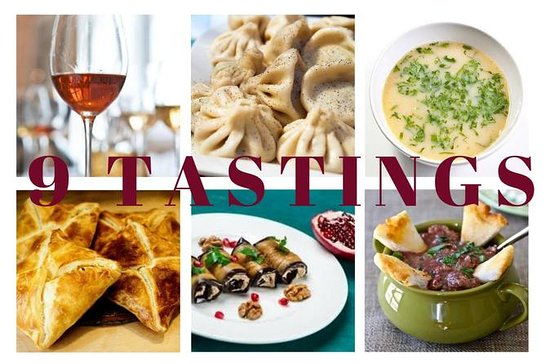 9 Tastings - A private food walk...