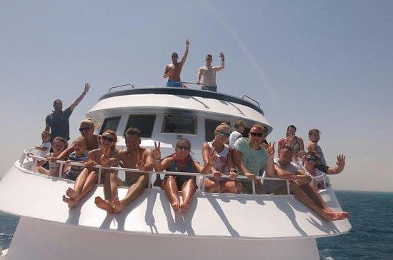 Ilha de Giftun viagem de snorkeling...