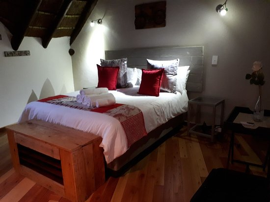 Gonubie, Sydafrika: Main bed in the family room