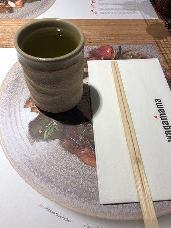 free green tea picture of wagamama oman muscat tripadvisor