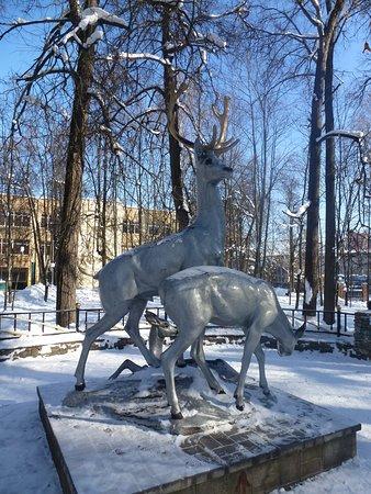 "Ramenskoe, روسيا: Напротив плавательного бассейна ""Сатурн"""