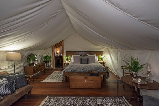 Clayoquot Wilderness Resort : Deluxe Ensuite Tent
