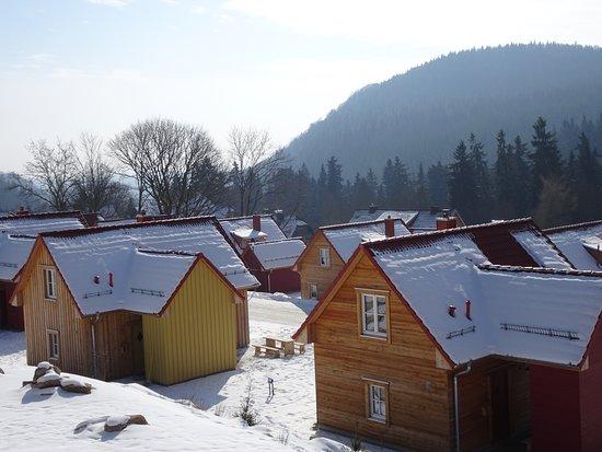Schierke, ألمانيا: Blick über den unteren Teil des Resorts