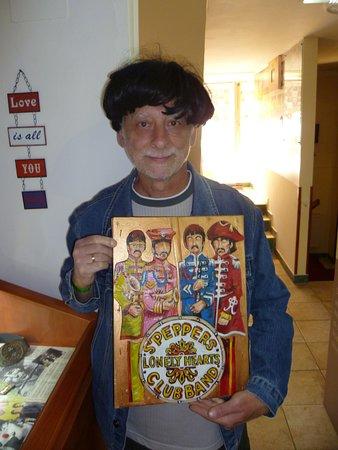 Egri Road Beatles Múzeum: Én gombafejjel