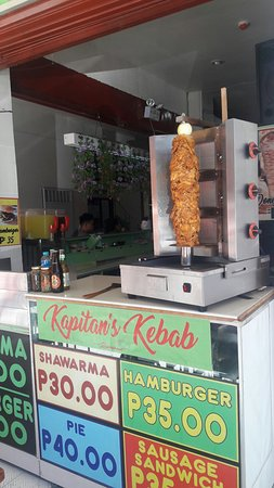 Negros Oriental, Philippinen: Slice chicken kebab   super....