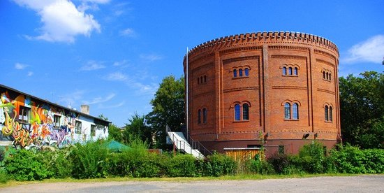 "Zwickau, Germany: Soziokulturelles Zentrum ""Alter Gasometer"""