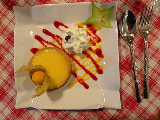 Anthisnes, Bélgica: tarte au citron