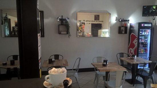 Villafranca d'Asti, Italie : Interno sala bar