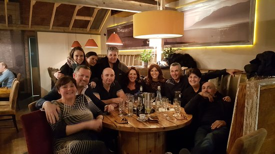 Familia dinner at Fusion, Warrenpoint Co Down