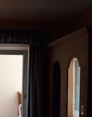 Hotel Lech da Sompunt: Blick von innen nach außen