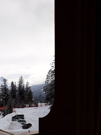 Hotel Lech da Sompunt: Blick vom Balkon