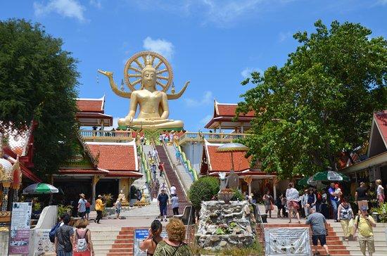 Bophut, Tailandia: Tempelanlage