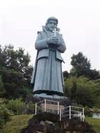 Ai no Amakusamura: とにかくでかい。天草四郎像