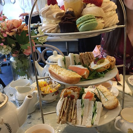 The best afternoon tea we have had so far!