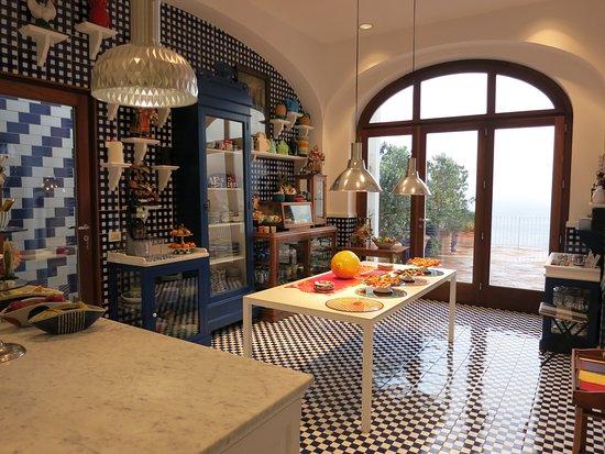 Maison La Minervetta: cuisine