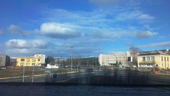 Kandalaksha, روسيا: вид из номера