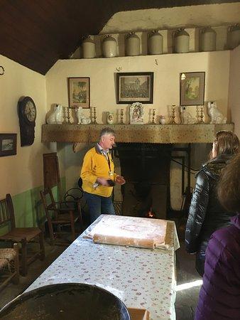 Jonathan at Bunratty Castle