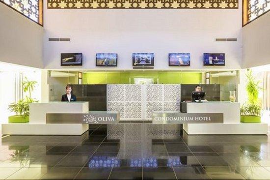 Ouahat Sidi Brahim, Morocco: Réception Appart Hôtel