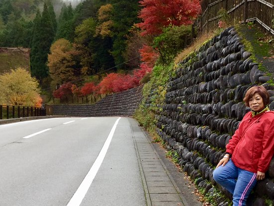 Gero Onsen Gasshomura: 最美的楓葉在此