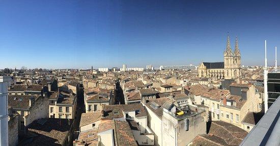 Mercure Bordeaux Cité Mondiale Centre Ville : from rooftop terrace