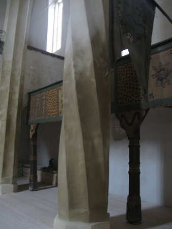Villages with Fortified Churches: Mosna fortified church interior